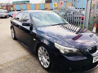 BMW 535 D M SPORT DIESEL AUTOMATIC SALOON BLACK SATNAV LEATHER PRIVACY GLASS DIESEL 3.0