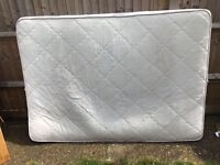1 large clean double bed mattress