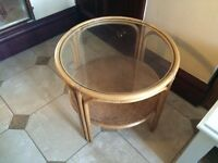 ROUND TABLE GLASS TOP