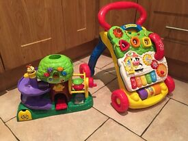 Vtech Discovery Activity Tree and First Steps Baby Walker