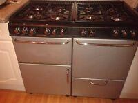 Gas type range cooker