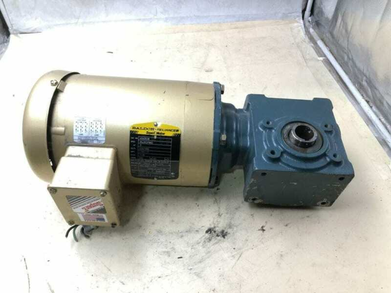 Dodge Tigear 2 17Q40H56 0.5HP Right Angle Gear Drive/Speed Reducer 40:1 3PH