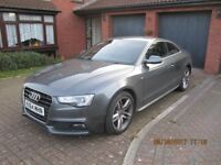 2014 (64) AUDI A5 COUPE S-LINE TDI 177 MULTITRONIC (2015 MODEL) IMMACULATE CONDITION