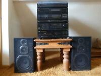 JVC Stereo Hi Fi System