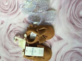 Brand new baby gap shoes x2