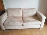 Free 2 Next Cream Sofas