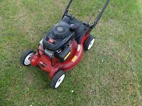 Toro Hi-vac 53, Honda engine, aluminium body commercial lawn mower self propelled