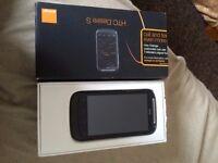 HTC Desire S - 1,126.4MB - Black (Orange) Smartphone