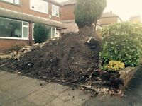 FREE TOPSOIL FRESHLY DUGOUT 18 TONS TAKE AS LITTLE OR AS MUCH AS YOU NEED FOR YOUR GARDEN PROJECT
