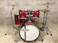Immaculate Mapex Horizon drum kit Cymbals Stands drums pedal
