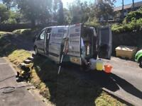 Fiat Scudo window cleaning/high pressure washing van, mobile valeting May swap px