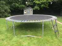 12 foot Supertramp trampoline, good condition and excellent bounce despite age