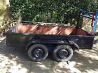 Bradley twin axle trailer