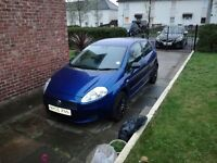 Fiat Punto Grande, Metallic Blue £30 a year tax