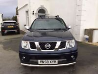 Navara aventura tidy in and out
