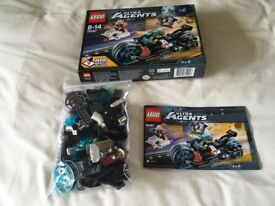 LEGO 70167 Ultra Agents Invizable Gold Getaway Set (Used)