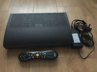 Tivo box with remote controll and leads