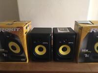 Near brand new KRK Rokit 8 Generation 3 speakers