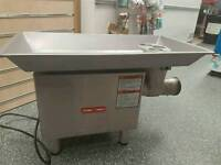 Mincer and meat cutting saw