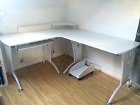 Corner Office Desk - excellent condition!