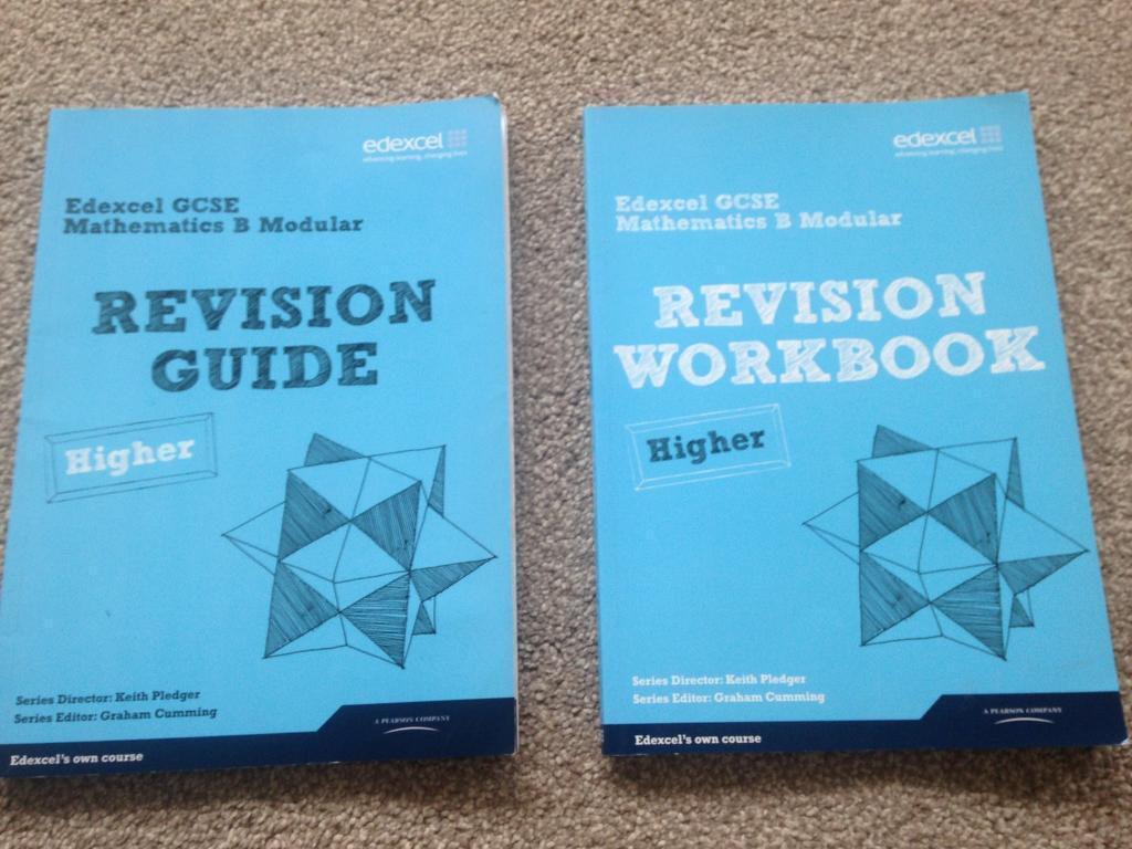 GCSE Edexcel Maths Higher Revision Guide and Workbook | in ...