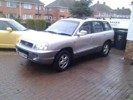 Hyundai Santa fe for sale (Automatic) 2 Ltr Diesel