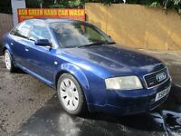 2000 X AUDI A6 4.2 QUATTRO AUTO SALOON CAMBELTED SAT NAV LEATHER FULL MOT LOVELY EXAMPLE PX SWAPS