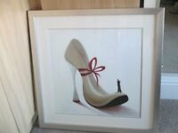 STUNNING QUALITY LARGE FRAMED SIGNED PICTURE CALLED ROMANCE BY INNA PANASENKO SMOKE & PET FREE HOME