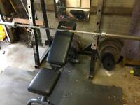 Weight plates Olympic barbell squat rack bench plates