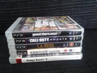 5 x PS3 games 4 sale