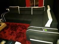 Corner sofa/bed double