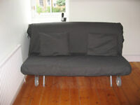 Ikea Sofa Bed plus 2 fitted sheets - would be £365 new