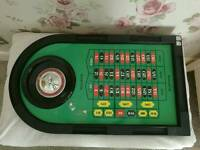 Roulette Table with balls