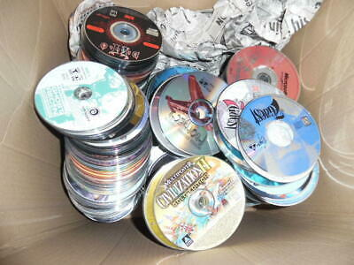 Lot of ~1350 PC Computer game Discs Only Loose Orphans Excellent Titles