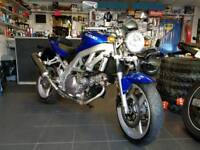 SUZUKI SV 650 2004 (54) BLUE ONLY 24,278 MILES!! PSH *part exchange avalible on this bike*