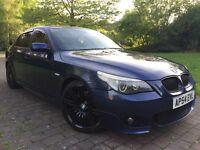 """2004 BMW 535d M sport 272 BHP TWIN TURBO FSH Automatic sat nav DVD player Heated seats 19"""" Alloys"""