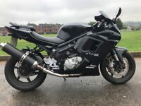 HYOSUNG GT650R -VERY VERY CLEAN LOW MILAGE BIKE MUST BE SEEN ,LONG MOT ETC -FINANCE AVAILABLE £1699
