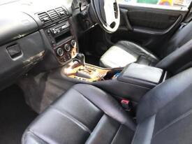 Mercedes ML270 CDI Black 2003