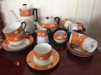 VICTORIA CHINA CZECHOSLOVAKIA tea and coffee set