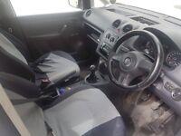 2013 Volkswagen Caddie crew cab on U.K. private plate