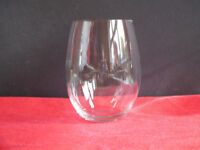 5 x Riedel Hand-Blown Crystal Stemless Wine Glasses / Tumblers made in Austria
