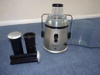 Moulinex whole fruit juicer