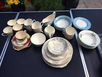 Job Lot of Vintage China / Crockery. Approx 200 items.