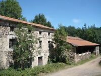 19thC French 4 Bedroom Farm House Property in Langeac (South-Central France) Renovation Project