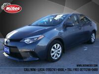 2014 Toyota Corolla LE - One Owner, Heated Seats, Bluetooth