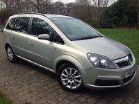 2006 Vauxhall Zafira 1.6 i 16v 5dr 7 SEATER NEW SHAPE Low miles 12 months mot cheap insurance model