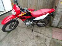 Genuine Honda xr 125cc enduro .