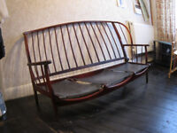 Solid wood sofa, 3seater