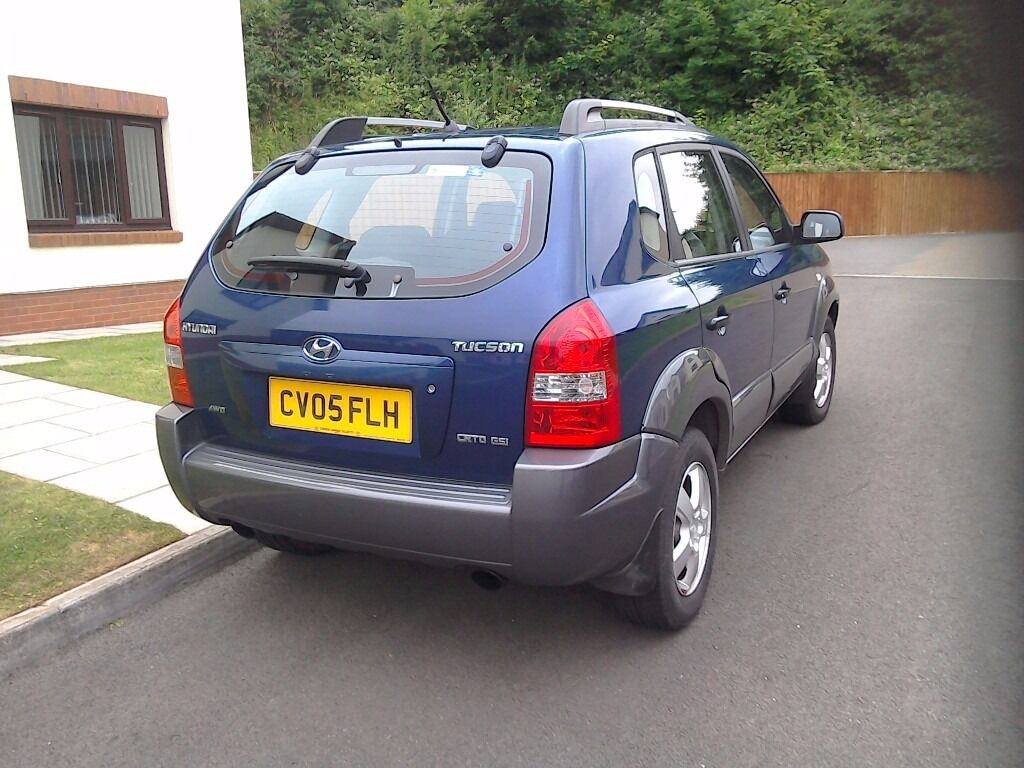 2005 hyundai tucson 4x4 diesel automatic in pembroke dock pembrokeshire gumtree. Black Bedroom Furniture Sets. Home Design Ideas