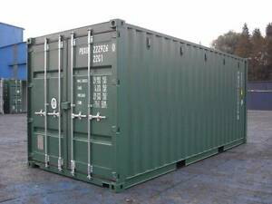 Single Use 20' Shipping Containers - $3,300.00 inc GST Narangba Caboolture Area Preview